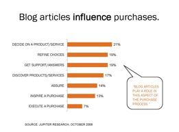 Blogs Help Buyers Choose